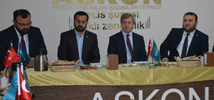 Vali Çınar'ın ASKON ziyareti