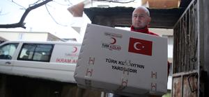Türk Kızılayından Iraklı aileye yardım