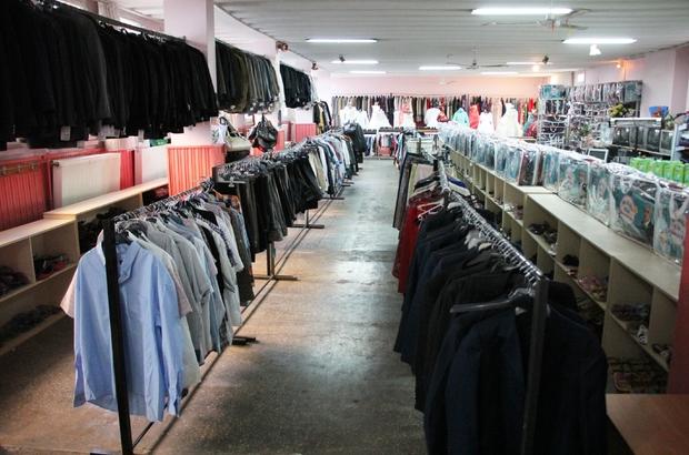 """Zara'da """"sosyal market"""" taşındı"""