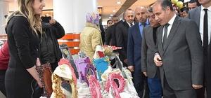 Karabük'te el sanatları sergisi açıldı