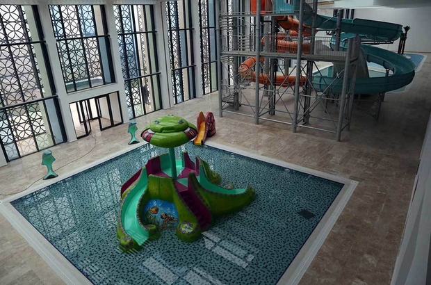 Yozgat'ta termal aquapark açılışında sona gelindi