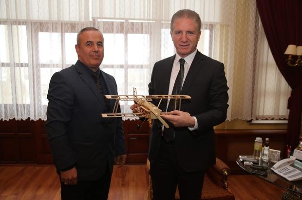 Türk Hava Kurumu Sivas Şubesi, Vali Gül'ü ziyaret etti