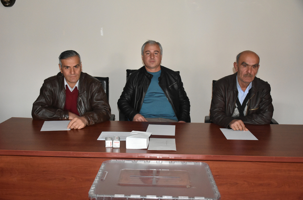 Gümüşhacıköy KHGB Mütevelli Heyeti üye seçimi yapıldı