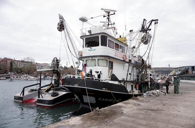 """Tekirdağ'da balık avına """"poyraz"""" engeli"""