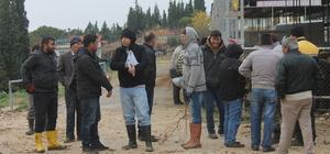 Demirci'de çiftçilere damızlık düveler dağıtıldı