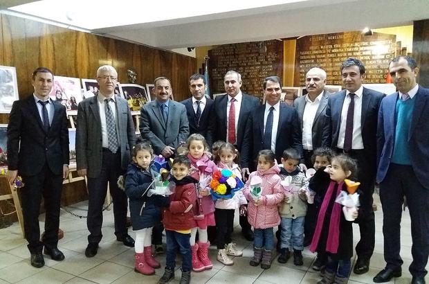 Öğrencilerden Milli Eğitim Müdürü Engin'e ziyaret