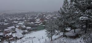 Bilecik'te kar yağışı