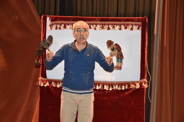 """Nusaybin'de """"Karagöz-Hacivat"""" gösterisi"""