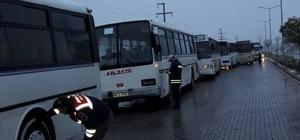 Malatya'da zorunlu kış lastiği denetimleri