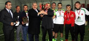 Beypazarı'nda 15 Temmuz turnuvası sona erdi