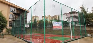 Gebze'ye çok amaçlı spor sahaları kazandırılıyor