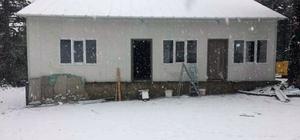 Muratdağı'na yılın ilk karı düştü