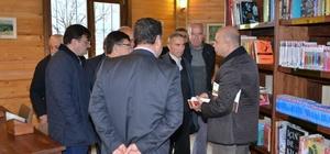 Başkan Saraoğlu muhtarlarla buluştu