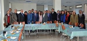 Başkan Baran, akademisyenlerle buluştu