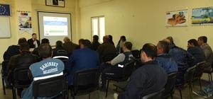 Belediye personeline iş sağlığı ve güvenliği eğitimi