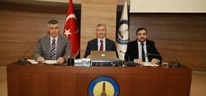Şahinbey Belediyesi Aralık Ayı Meclis toplantısı yapıldı