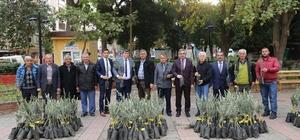 Turgutlulu zeytin üreticileri de desteklendi