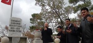Çanakkale Koca Seyit mezarı başında anıldı