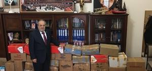 Milletvekili Uslu'dan Hitit Üniversitesi'ne kitap bağışı