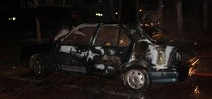Osmaneli'de araç yangını