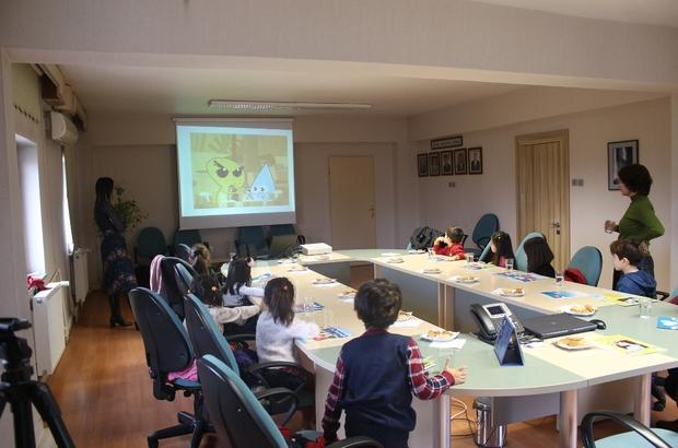 Anaokulu öğrencileri KASKİ'de