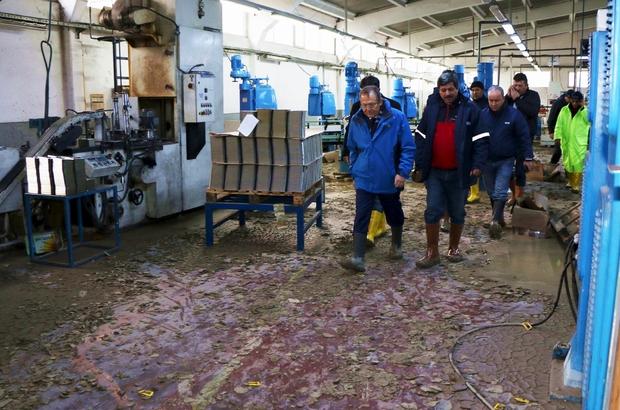 Balıkesir'deki kuvvetli yağış