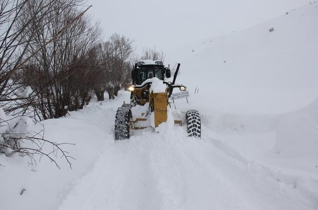 Erzincan da 115 köy yolu ulaşıma açıldı