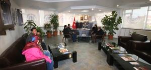 Suriyeli öğrenciler Beyşehir Belediyesi'ni ziyaret etti