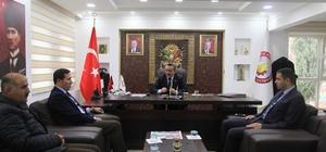Büyükşehir Belediyesi Genel Sekreteri Kılca'dan Başkan Tutal'a ziyaret