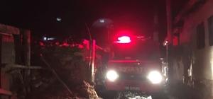Seyitgazi'de çıkan yangında bir ev kullanılmaz hale geldi