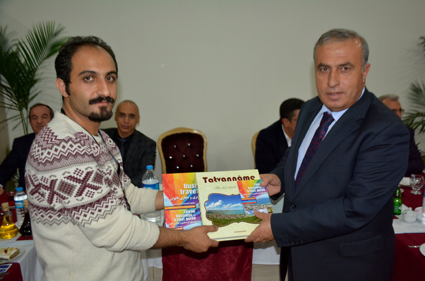 İranlı turizm acente işletmecileri Tatvan'da