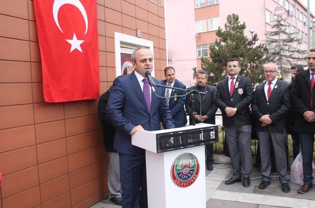 Türkiye Harp Malulü Gaziler Şehit Dul ve Yetimleri Derneği Tosya temsilciliği açıldı