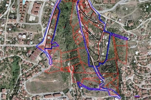 Serdar ve Arızlı mahallelerinde yapılan şuyulandırma çalışması askıya çıkıyor
