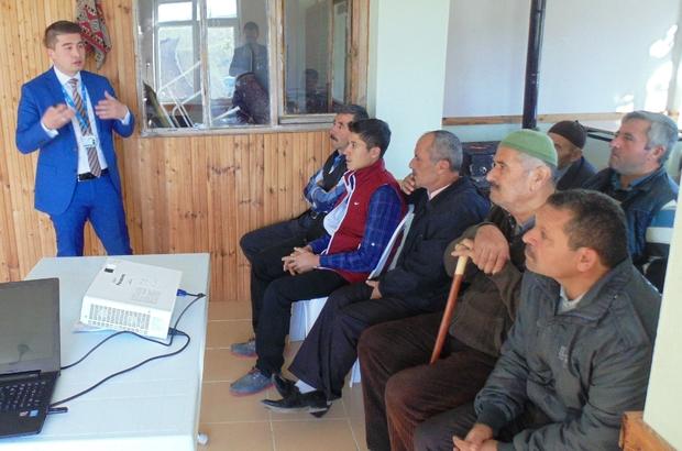 İzmit Belediyesi Kaynarca köyünde süt verimi eğitimi verdi