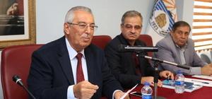 Kaş Belediye Meclisi Aralık ayı olağan meclis toplantısı