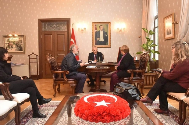 """Vali Ata: """"BM, Suriyeli sığınmacılar için daha çok destek olmalı"""""""