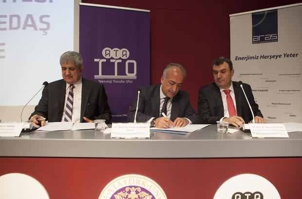 Atatürk Üniversitesi ve Aras Elektrik Dağıtım A.Ş. Arasında İşbirliği Protokolü İmzalandı