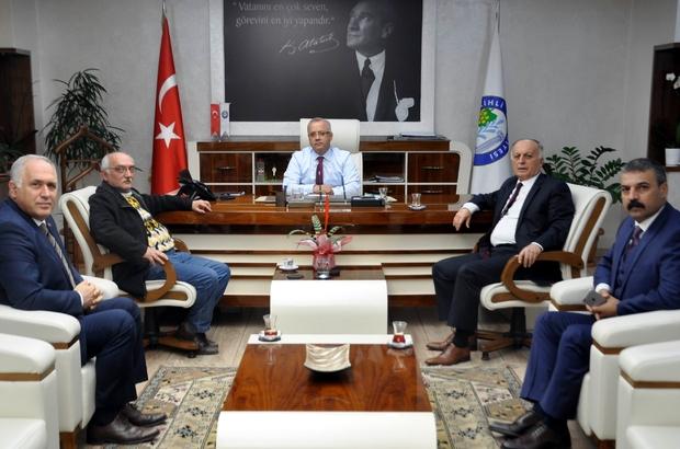 MHP'li Akın'dan Başkan Kayda'ya ziyaret