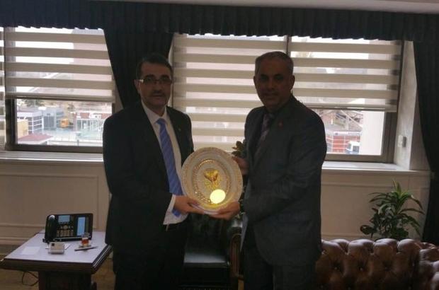 Başkan Yaman Ankara'da