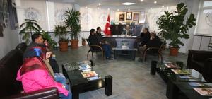 Suriyeli öğrencilerden Beyşehir Belediyesine ziyaret