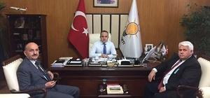 Turan, Bakan Müezzinoğlu'nu ağırladı