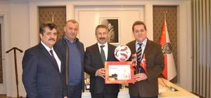 Eskişehirspor Kulübü'nden Eskişehir Emniyet Müdürlüğü'ne ziyaret