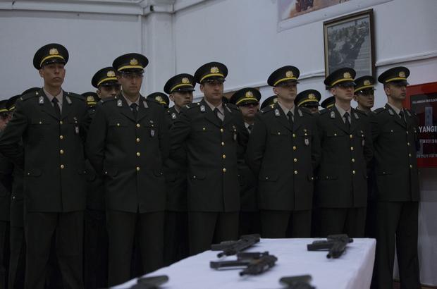 Zırhlı Birliklerde yemin töreni