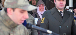 Kastamonu'da acemi erler için yemin töreni