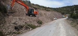 Körfez Belediyesi, İlimtepe yoluna duble yol yapıyor
