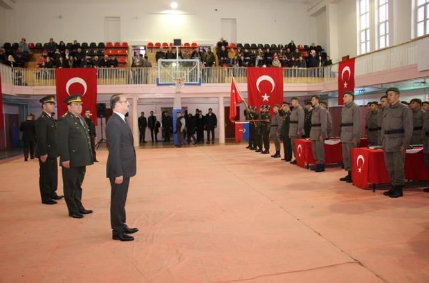 Yozgat ve Sivas'ta kısa dönem erler yemin etti