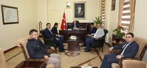 Engellilere yönelik çalışan STK'lar Vali Ustaoğlu'nu ziyaret etti