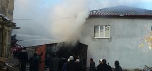 Seydişehir'de yangın