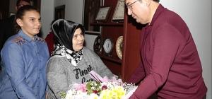 Nevşehir'deki özel insanlar Belediye Başkanı Ünver'i ziyaret etti