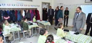 Başkan Üzülmez, okul ziyaretlerine Süleyman Şah İlkokulu ile devam etti